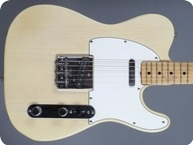 Fender-Telecaster-1973-Blonde Ash Transparent White