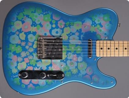 Fender Telecaster Blue Flower Mij 1999 Blue Flower