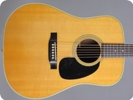 Martin-D 28-1974-Natural Spruce/ Rosewood