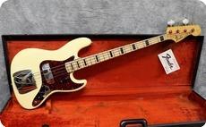 Fender Jazz 1973 Olympic White