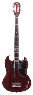 Gibson Eb 0 Bass Slotted Headstock 1971 Cherry Red