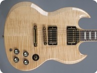Gibson-SG Select-2007-Natural Flamed Maple