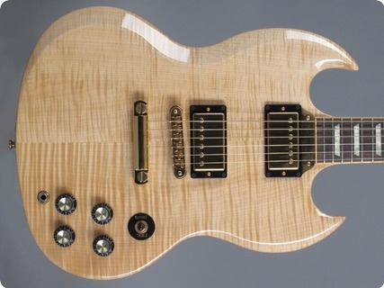 Gibson Sg Select 2007 Natural Flamed Maple