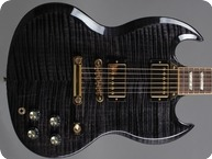 Gibson SG Select 2007 Transcluent Black