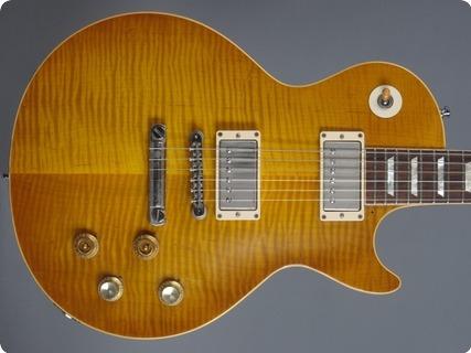 Gibson 59 Les Paul Cc #1 Vos / Melvin Franks / Greeny / Gary Moore  2010 Lemon Burst
