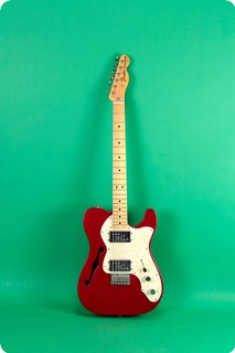 Fender Telecaster Thinline 1972 Re Issue Red 2003 Red