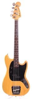 Fender Mustang Bass 1977 Natural