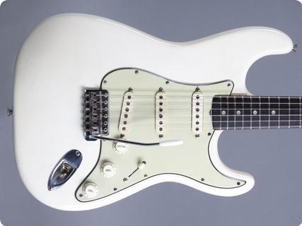 Fender Stratocaster 1965 Olympic White (refin)