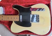 Fender-Blackguard Telecaster-1953-Blonde