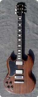 Gibson Sg Standard Lefty 1973 Walnut