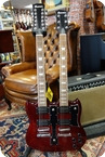 Dimavery Double Neck Cherry Cherry