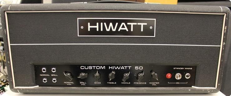 Hiwatt Dr 504 1973