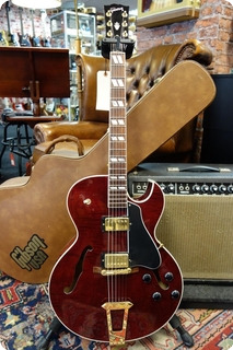 Gibson Es 175 Flamed Wine Red Ohsc 2001 Wine Red
