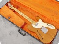 Fender-Telecaster Thinline-1968-Natural