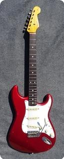 Fender Stratocaster Ried62 Avri Fullerton 1983 Candy Aple Red