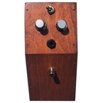 British Pedal Company Ltd Edition MKI Wooden Case Tone Bender Natural