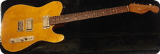 Real Guitars Custom Build LPT 2020 Translucent Amber