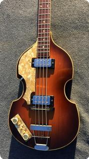 Hofner Violin Bass 500/1 Lefty 1965 Violin Sunburst