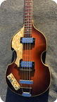 Hofner Violin Bass 5001 Lefty 1965 Violin Sunburst