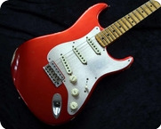 Fender Custom Shop Stratocaster Candy Apple Red