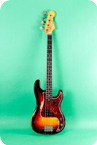Fender-Precision Bass-1961-Sunburst