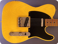 Real Guitars Standard Build T Roadwarrior 2020 Butterscotch