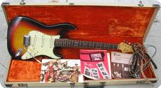 Fender Stratocaster 1963 Sunburst Korina Body