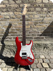 Fender Stratocaster Custom Shop Deluxe HSS 2011 Transparent Red