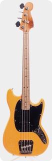 Fender Mustang Bass 1977 Butterscotch Orange Peel