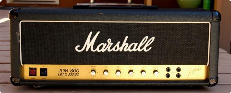 Marshall Eric Clapton's Personal Jcm800  Mk Ii    Jcm 800 1984