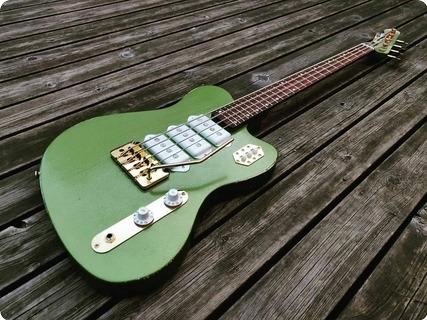 Vuorensaku Guitars T.family Slimer 2020 70´s Mustang Lime Green