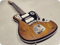 Vuorensaku Guitars T.Family T.Master 2119 2019 Deadwood Amber