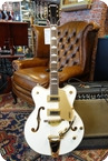 Gretsch G5422TG Snow Crest White Limited Edition Gold Hardware Snow Crest White