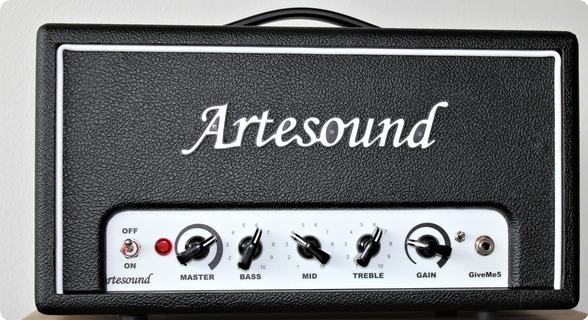 Artesound Giveme5 Head, 5w All Tube, Adj. Speaker Sim 2020 Black