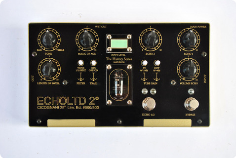 Cicognani Echoltd 2°, 25th Limited Edition 2020 Black / Gold