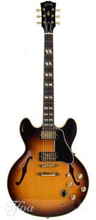 Gibson Es345td Historic Burst Vos 2015 Near Mint 1964