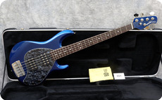 Ernie Ball Music Man Stingray 5 HH 2006 Blue Pearl