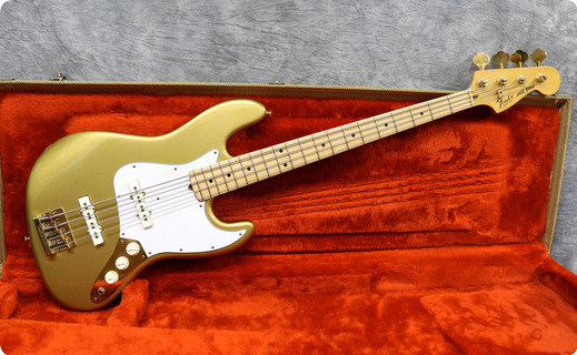 Fender Collectors Edition Jazz 1982 Gold