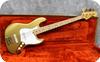 Fender Collectors Edition Jazz 1982 Gold