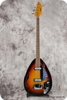 Vox Teardrop Bill Wyman 2013 Sunburst