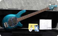 Music Man Ernie Ball Bongo 4 HH 2005 Teal Pearl