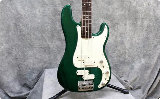 Fender Elite Precision Bass Ii 1983 Emerald Green