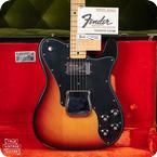Fender-Telecaster Custom-1973-Sunburst