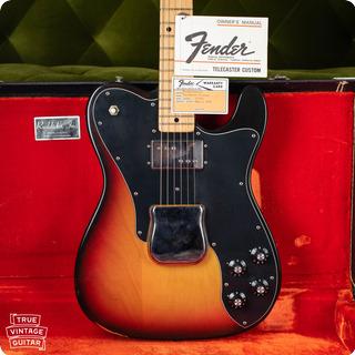 Fender Telecaster Custom 1973 Sunburst
