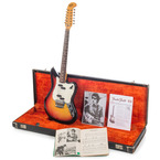 Fender Electric XII String Owned And Used By Bob Dylan 1965 Sunburst