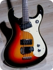Mosrite VENTURES Bass 1963 Sunburst