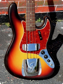 Fender Jazz Bass 1966 Original Sunburst Finish
