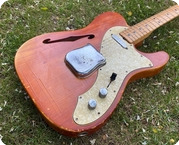 Fender-Telecaster Thinline-1969-Natural