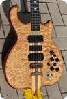 Alembic SERIES II 4 String LSB Bass 1987 Quilted Maple