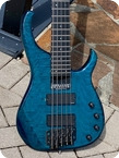 Modulus Graphite Quantom Q5 5 Sting Bass 1992 See thru Deep Blue
